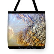 Planet Earth Eight Tote Bag