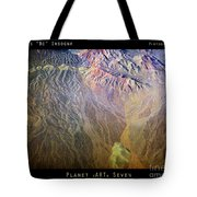 Planet Earth Seven Tote Bag