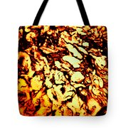 Planet Of Fire Tote Bag