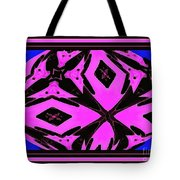 Planet Of The Aliens Abstract Tote Bag