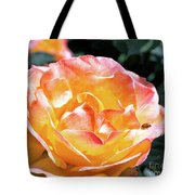 Planet Of The Rose Tote Bag
