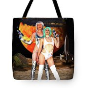 Planet Of The Space Vixens Tote Bag
