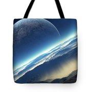 Planet Rise Tote Bag