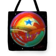 Planet Texas Tote Bag