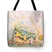 Planetary Chariot Tote Bag