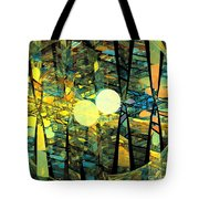 Planetary Ellipses Tote Bag