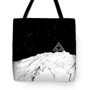 Planetary Mountain Tote Bag by GuoJun Pan
