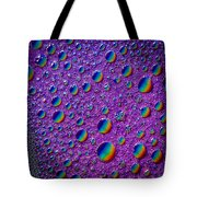 Planetary Rainbow Drop Alignment Tote Bag