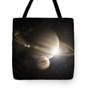 Planetary Ring Tote Bag
