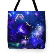 Planetary Sea Tote Bag