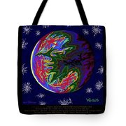 Planets 1 2 3 - Science Tote Bag