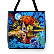 Planets Image Four Tote Bag