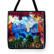 Planets Image Two Tote Bag