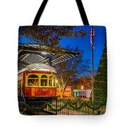 Plano Trolley Car Tote Bag