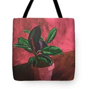 Plant In Ceramic Pot Tote Bag