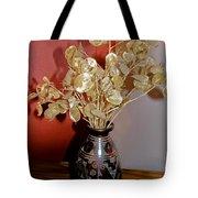 Plant Life In Vase Tote Bag