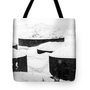 Planters And Snow Tote Bag