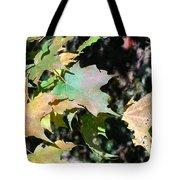 Planting Fields / Leaves Tote Bag