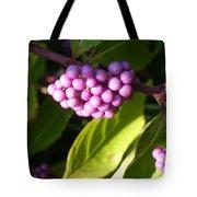 Planting Fields Purple Tote Bag