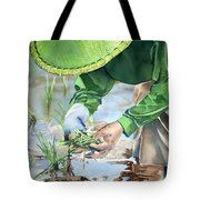 Planting The Future Tote Bag