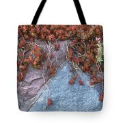 Plants On The Rock Two  Tote Bag