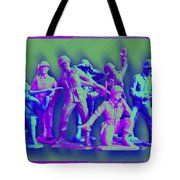 Plastic Army Man Battalion Pop Tote Bag