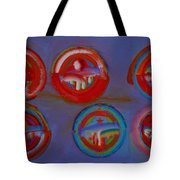 Plate State Tote Bag