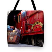Platform Nine And Three Quarters Tote Bag