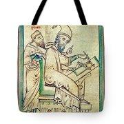 Plato With Socrates Tote Bag