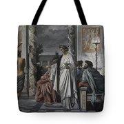 Plato's Symposium Tote Bag