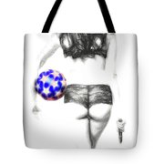 Play Ball Or Else  ... Tote Bag