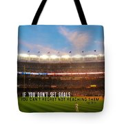 Play Ball Quote Tote Bag