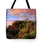 Play Time In Paradise Tote Bag