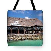 Playa Del Carmen Maritime Terminal Mexico Tote Bag by Shawn O'Brien