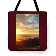 Playa Hermosa Puntarenas Costa Rica - Sunset A One Detail Two Vertical Poster Greeting Card Tote Bag