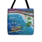 Playa Secreta II Tote Bag