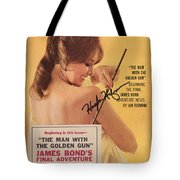 Playboy Magazine Poster Signed Tote Bag