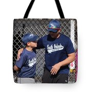 Player And Coach Tote Bag