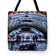 Playful Ladies By Chicago's Bean  Tote Bag