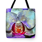 Playful Orchid Tote Bag