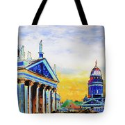 Playhouse And French Dome Tote Bag