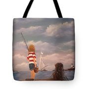 Playing Hooky Tote Bag