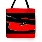 The Sigma In Red Tote Bag