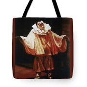 Playing The Clown Tote Bag
