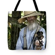 Playing The Fiddle Tote Bag