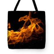 Playing With Fire Tote Bag