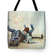 Playmate Tote Bag