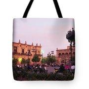 Plaza De Armas, Guadalajara, Mexico Tote Bag
