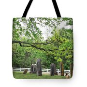 Pleasant Forest Cemetery Tote Bag