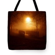 Pleasant Run Bridge Tote Bag